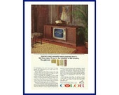RCA Color Television Original 1965 Vintage Print Ad - quot America 39 s Most Successful Space Programs Have It RCA Victor Color TV Has It quot