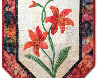 Tiger Lily Treasure Quilt