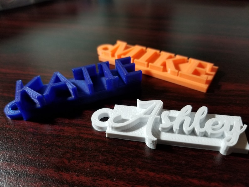 3d Printed Personalized Keychain Nametag  57809efbe060
