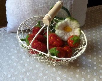 Strawberries Felt