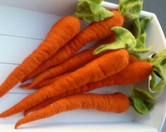 felt carrot eastern spring