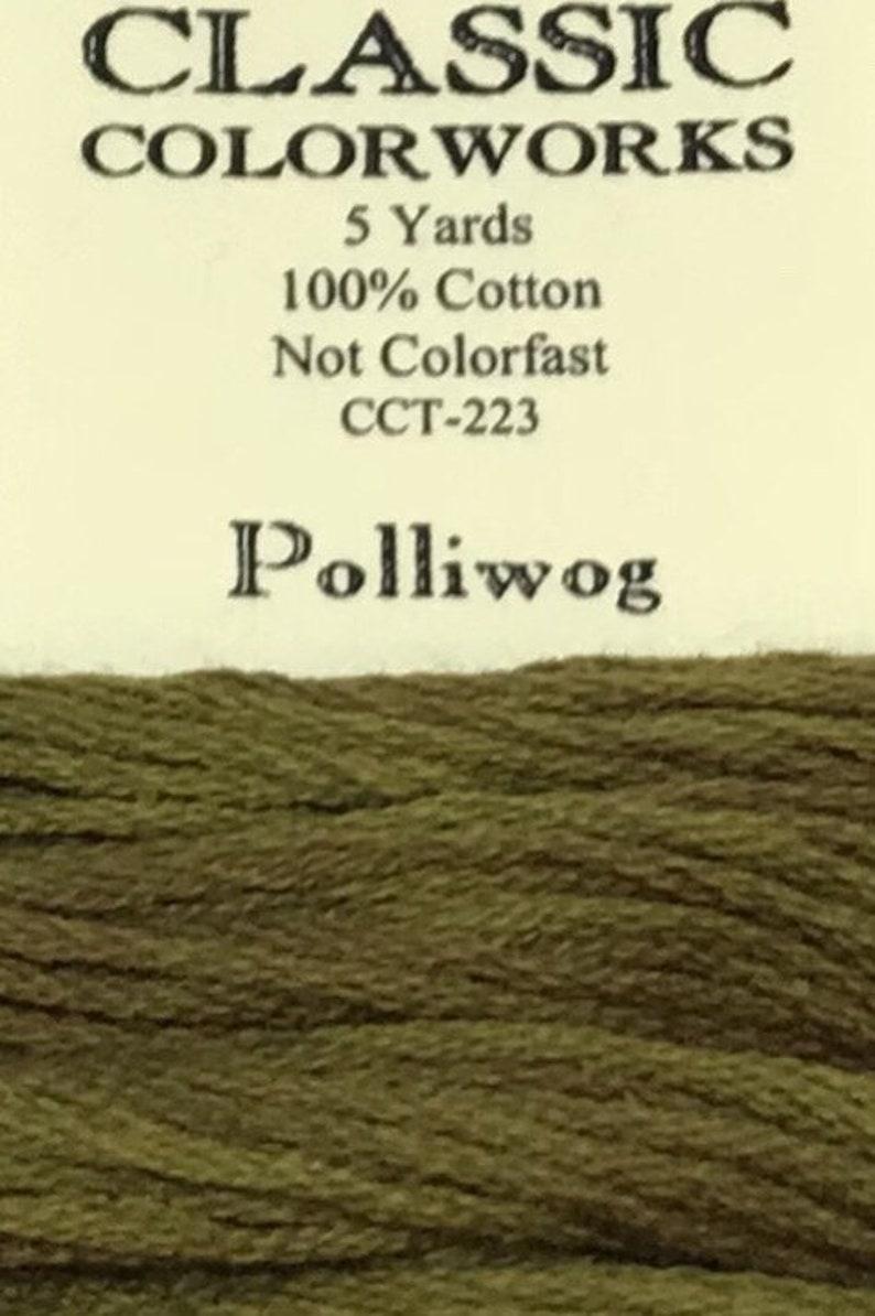 Classic Colorworks 6 Strand Cotton Floss Polliwog