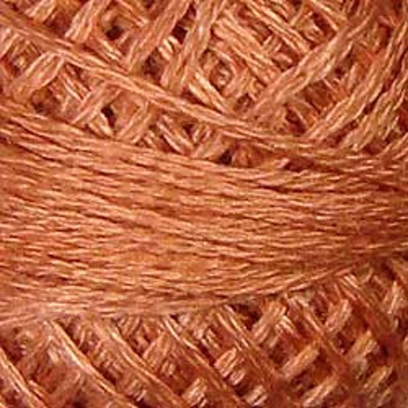 Valdani 3 Strand Cotton Floss 861 Faded Rust Light