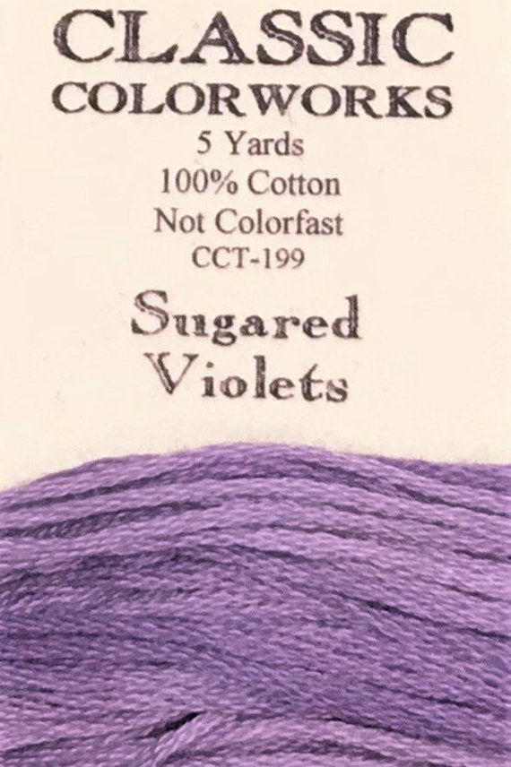 Lavender Louise Classic Colorworks 6-Strand Cotton Floss