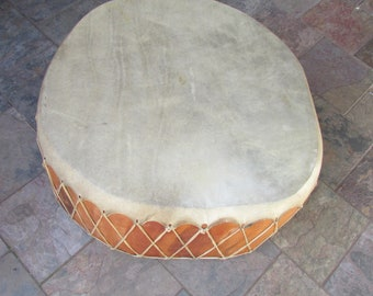 Taos Native American Large drum Table