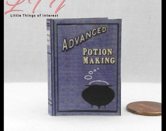 photo relating to Advanced Potion Making Printable known as Highly developed potion e-book Etsy