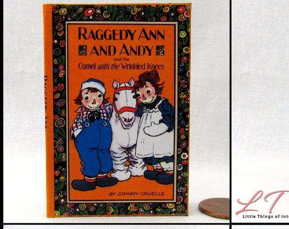 """RAGGEDY ANNE And ANDY The Camel With The Wrinkled Knees Book 18"""" American Girl Doll Accessories"""