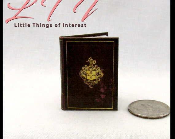 1:6 Scale SIR FRANCES DRAKE'S Diary Miniature Book Readable Illustrated Book Explorer Uncharted El Dorado Monster High Blythe Barbie Phicen