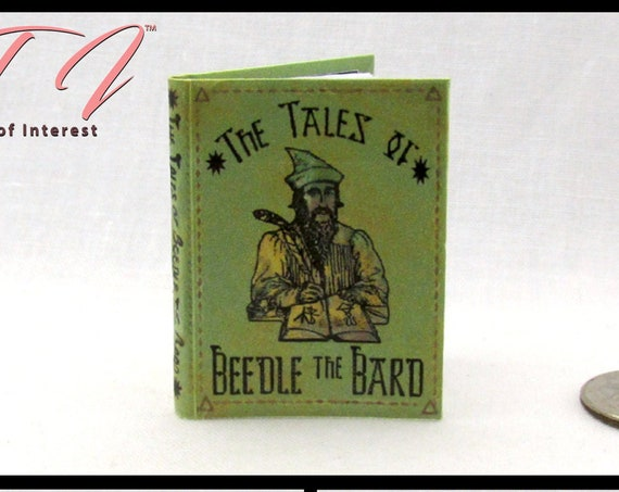 The TALES Of BEEDLE The BARD in 1:6 Scale Illustrated Readable Book Magic Witch Popular Boy Gypsy Wizard Potter Blythe Pullip Barbie Phicen