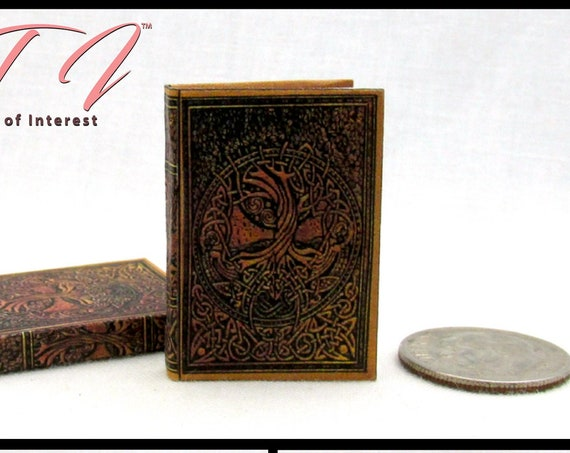 DRAGONGLASS PRIMER Miniature Book Dollhouse 1:12 Illustrated Readable Book Game of Thrones Dragons Obsidian White Walkers Westeros