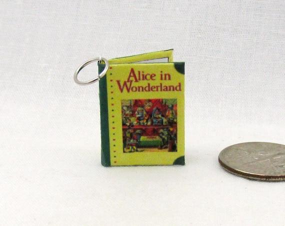 CHARM Alice's in Wonderland Necklace Bracelet Pendant Jewelry Christmas Ornament