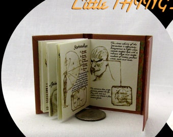 1:6 Scale WESEN BOOK Of LORE Readable Book Grimm Blythe Barbie Play Scale Phicen 1/6