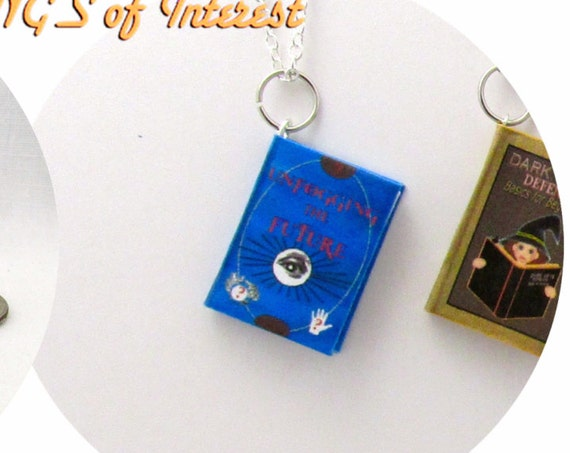 CHARM Unfogging the Future Book Necklace Bracelet Pendant Jewelry Christmas Ornament Popular Boy Wizard Potter