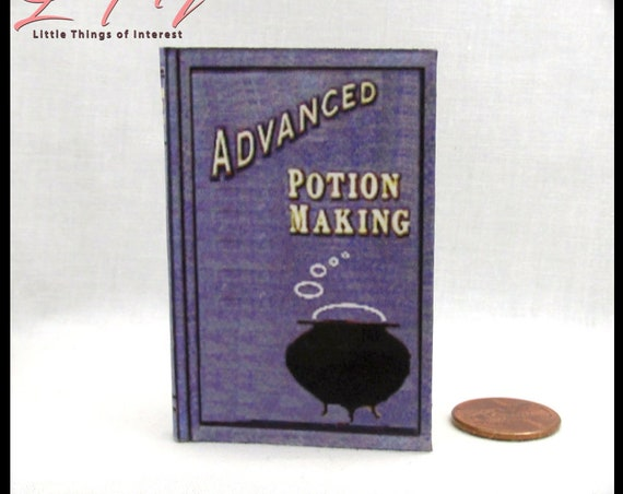 ADVANCED POTION MAKING 1:3 Scale 18 inch American Girl Doll Illustrated Spell Popular Boy Wizard Witch Potter Magic Oculus Reparo