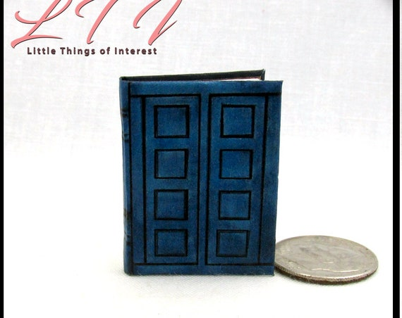 TARDIS JOURNAL RIVERSONG'S 1:6 Scale Book Illustrated Book Doctor Who Play Scale British Weeping Angel Whovian Time Traveling Spoilers
