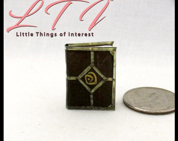 SHEPHERDS JOURNAL ATLANTIS Miniature Book Dollhouse 1:12 Scale Illustrated Book The Lost Empire Aziz