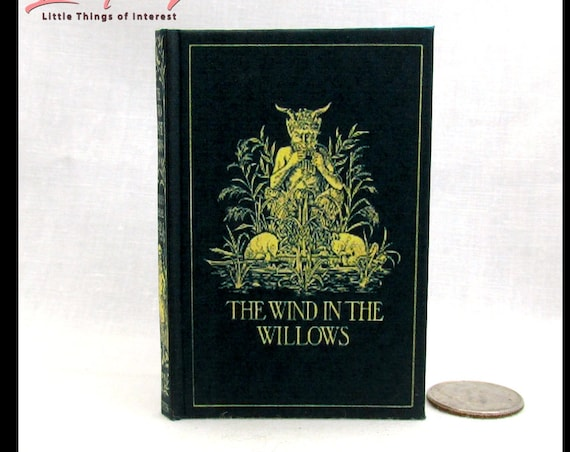 The WIND In The WILLOWS Illustrated Readable Book 1:3 Scale American Girl Doll Children's Novel 1908 Animals Mole Rat Toad Badger Motorcar