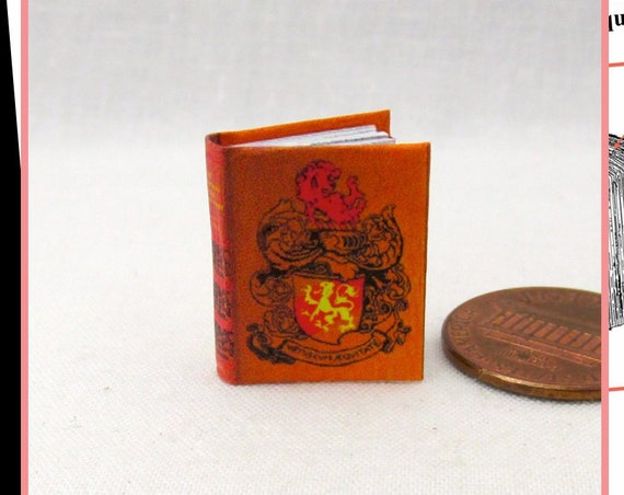 The CHAMPIONS Of The ROUND Table 1:12 Miniature Dollhouse Scale Book PDF Tutorial Printable Download Book King Arthur Adventure Novel