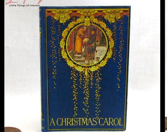 A CHRISTMAS CAROL Book 1:3 Scale Readable American Girl Doll 18 inch Doll 1/3 Scale Scrooge Ghost Charles Dickens