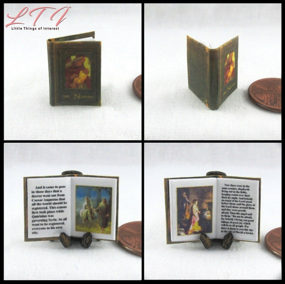1:12 SCALE MINIATURE GOLDEN BOOK BETSY MCCALL DOLLHOUSE SCALE