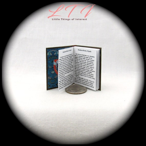 STANDARD BOOK OF SPELLS in 1:3 Scale Readable Textbook Potter Magic Wizard