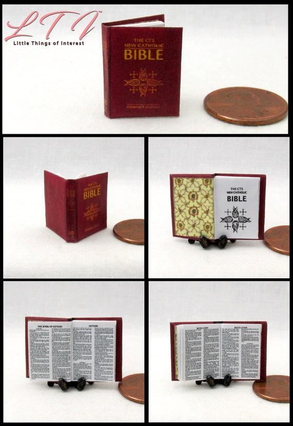 BOOK OF SEASHELLS Miniature Book Dollhouse 1:12 Scale illustrated Readable Book