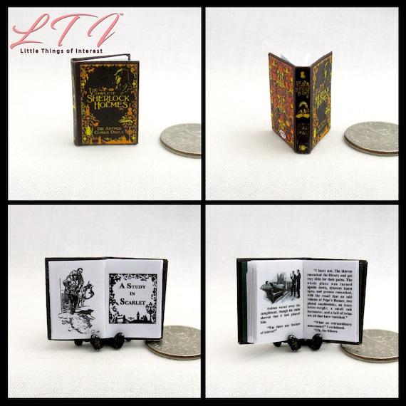 1:12 SCALE MINIATURE BOOK CINDERELLA 11 PRE 1900 DOLLHOUSE SCALE