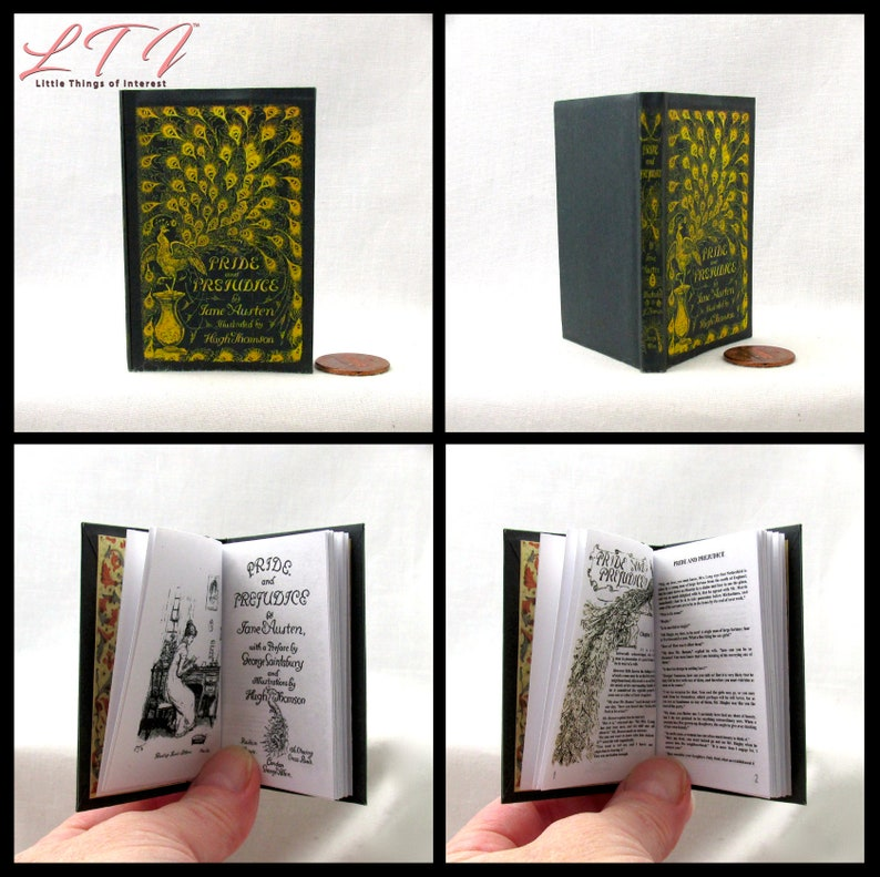 NOVEM PORTIS The Ninth Gate Illustrated Book in 1:3 Scale Readable AG