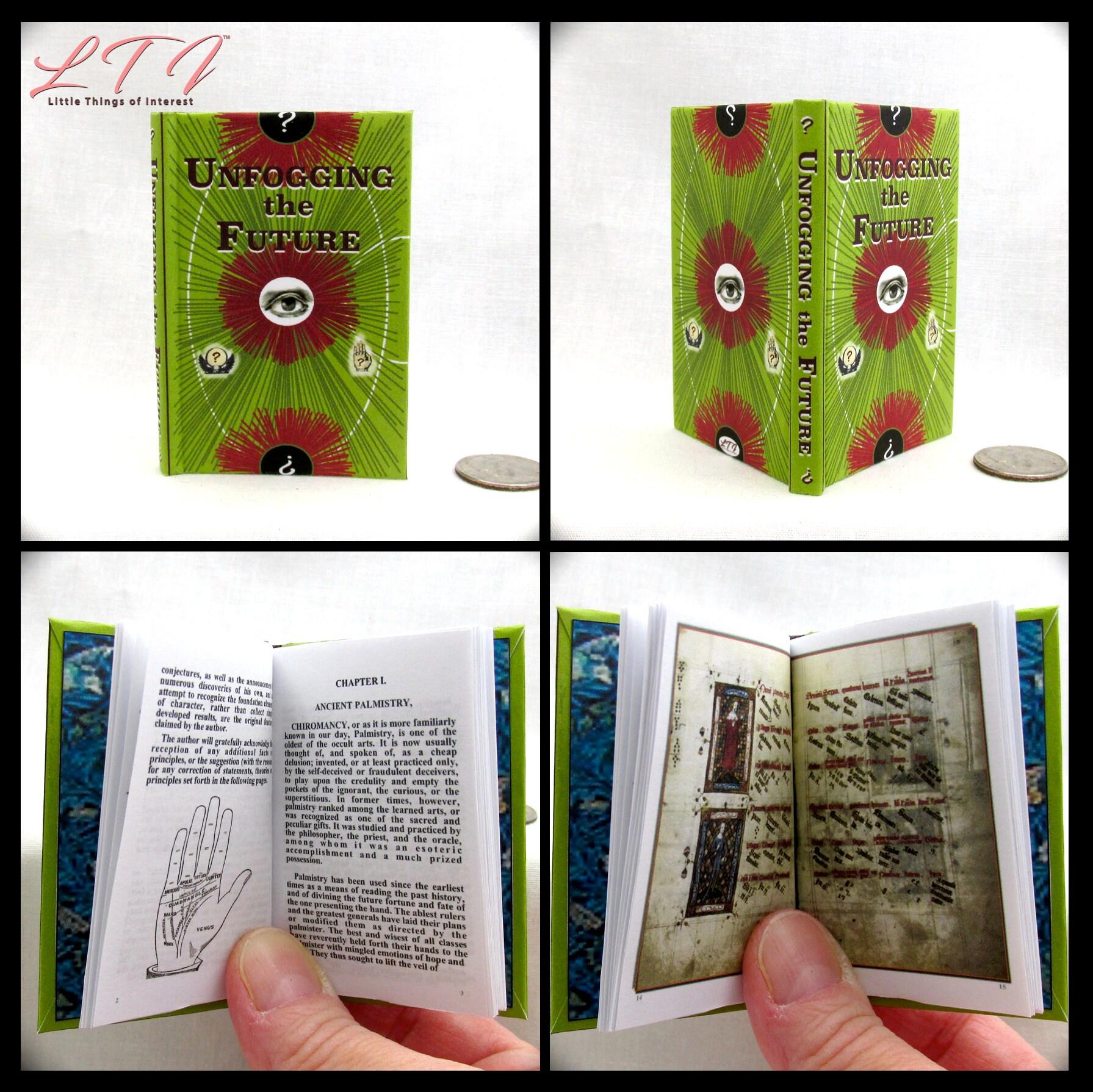 UNFOGGING THE FUTURE 1:3 Scale Readable Illustrated Book Magic
