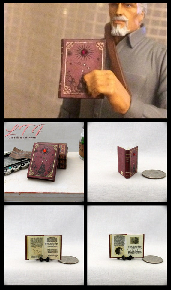 /'PIRATE/'   MAGAZINES Dollhouse  1:12 scale OPENING /& PAGES 4 Miniature