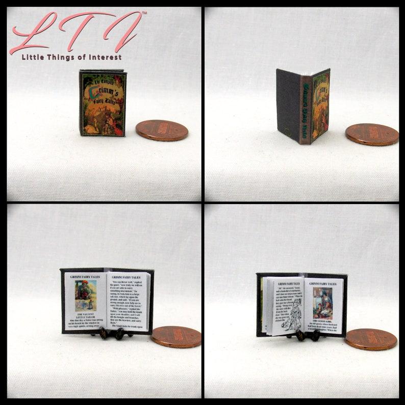 1:12 SCALE MINIATURE BOOK GUTENBERG BIBLE 1455