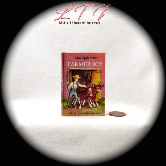 FARMER BOY 1:3 Scale Illustrated Readable Book American Girl Doll Book