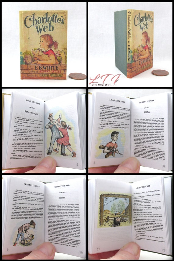SENSE AND SENSIBILITY Book in 1:4 Scale Readable Miniature Doll Book