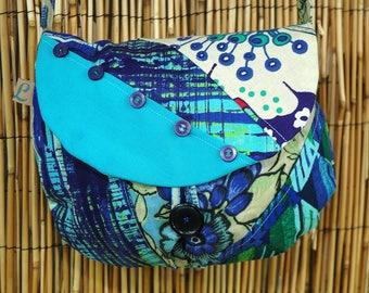 Clutch bag Collection Lina Patchwork fabrics