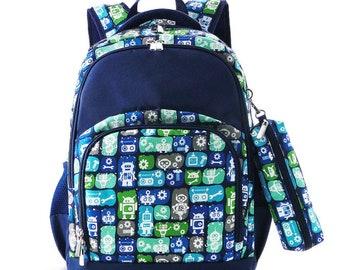 0c6afeefc90d Robot backpack   Etsy