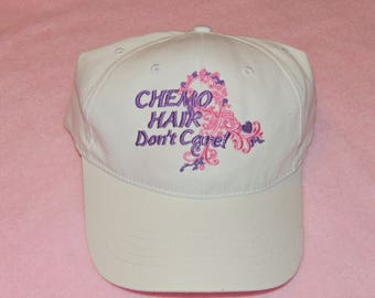 ca15c75dee0 Chemo Hair Don t Care Hat