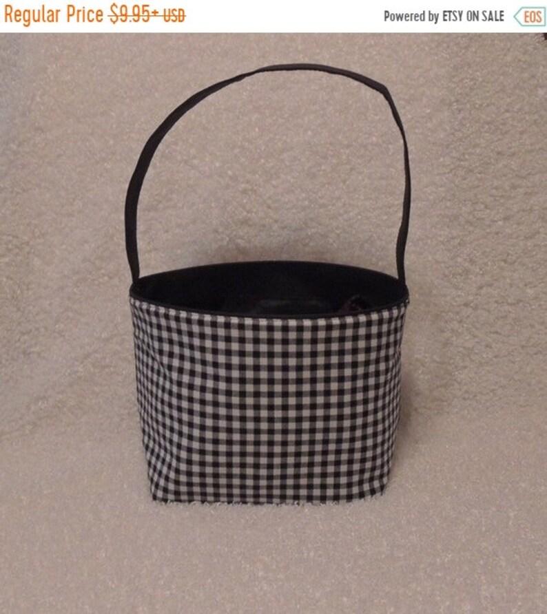 10% OFF Halloween bucket Monogrammed Halloween Bag TOP image 1