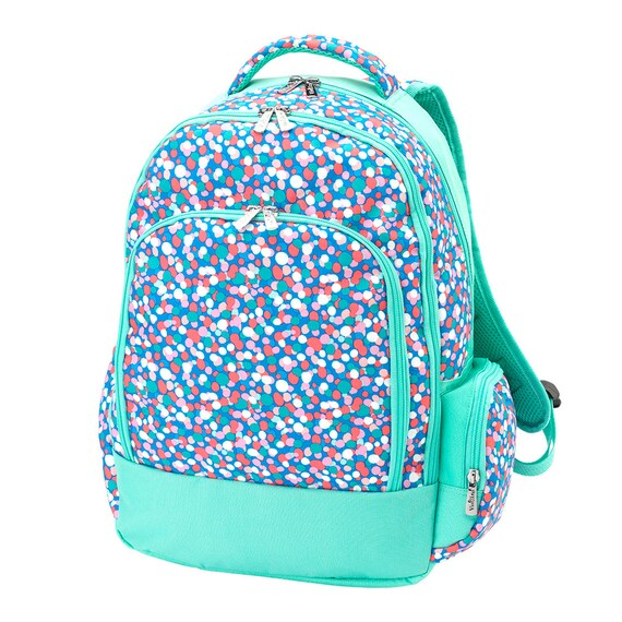 Backpack Monogrammed backpack Confetti Pop Backpack  36a45dc644692