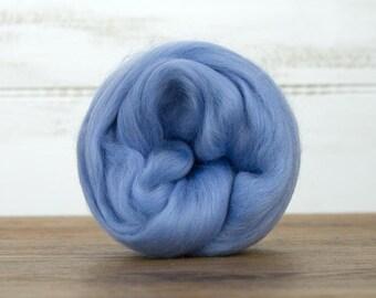 Dream Merino Wool Top Fiber For Spinning Felting Weaving or Blending Board for Rolags