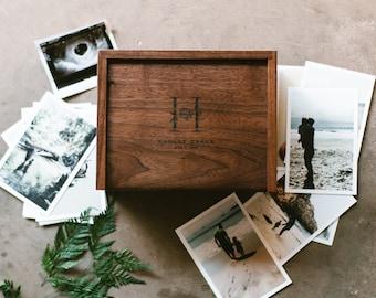 Wooden Box Keepsake Memory Photo Baby Wedding Wooden Boxes Large Card Sympathy