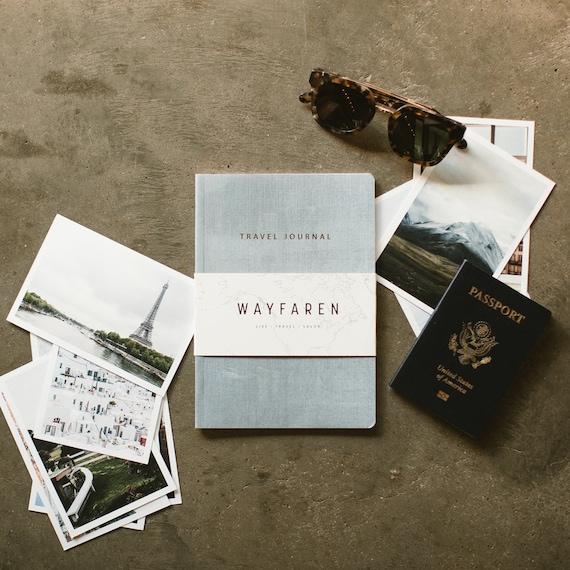Reise journal reisetagebuch wanderlust geschenk fernweh etsy - Wanderlust geschenke ...