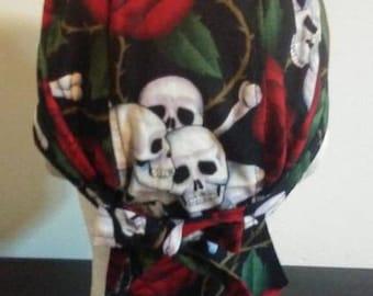 Skulls & Roses Do-rag