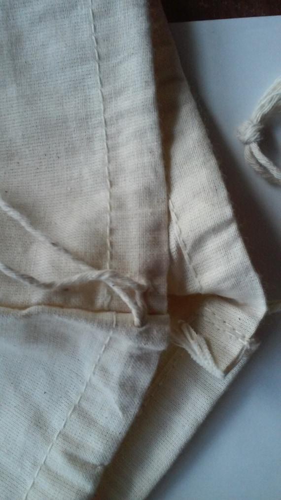 20pcs 12x16 16x18 LARGE Cotton Muslin Bag  Handbag Dust Cover Heavy Weight Cotton Muslin  30x40cm 40x46cm Tall Boots Shoe Bag