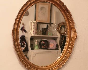 Vintage Mirror / Mirrored Vanity Tray