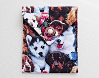 Dog Tarot Bag with Vintage Button