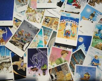 Snowland Tarot Deck (Full - 78 Cards) With Tarot Bag