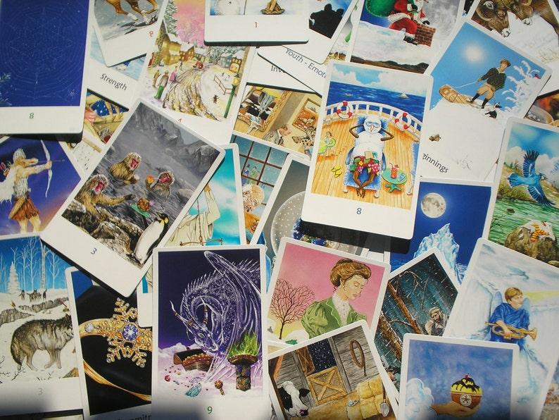 Snowland Tarot Deck Full  78 Cards With Tarot Bag image 0
