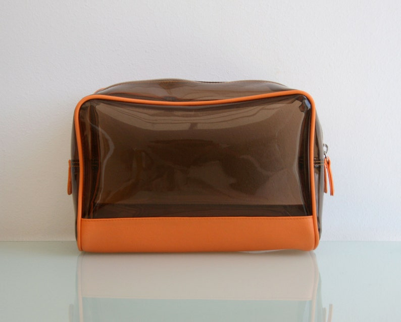 bf95778099 Large Toiletry Bag Women. PVC Makeup Bag. Clear Cosmetics Bag.