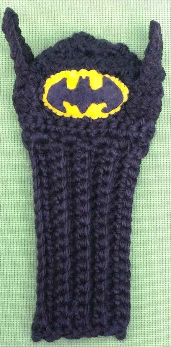 Super Hero Batman Golf Covers Golf Club Covers Crochet Etsy