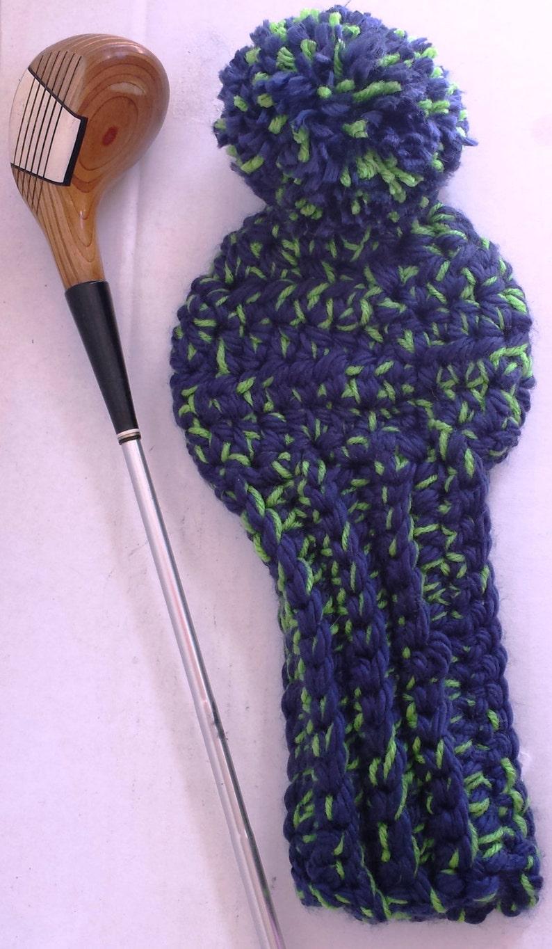 Crochet Golf Club Covers Club Head Covers Golf Head Covers Etsy